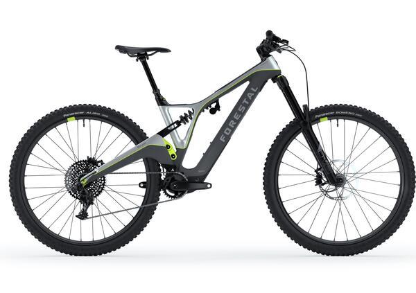 Forestal Siryon. 17 kg di tecnologia per il downhill