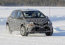 Toyota B SUV: sarà semplicemente una Yaris rialzata? [Foto spia]