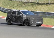Hyundai Kona N: crossover sportivo anti Puma ST [Foto spia]