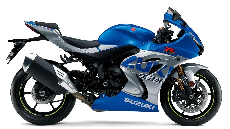 Nuova Suzuki GSX-R 1000 R Ecstar Replica. In pista con Rins e Mir