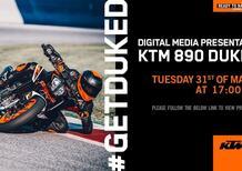 KTM Duke 890R, la presentazione online. E poi in diretta con Moto.it!