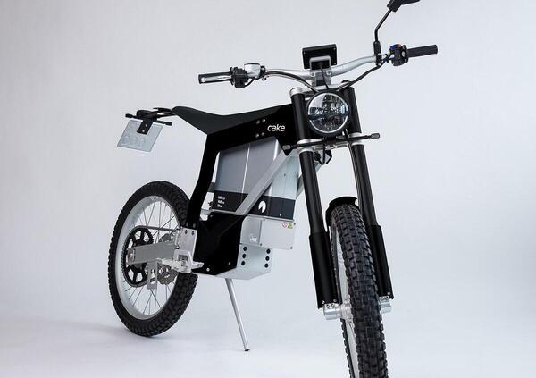 Kalk INK SL. La moto elettrica di Cake pronto strada