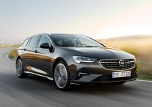 Opel Insignia restyling, i prezzi: si parte da 34.000 euro