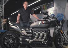 Triumph Factory Stories: il motore della Rocket III
