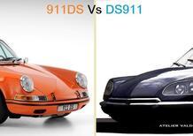 Bellezze mancate per non mischiare le razze: le stupende ibride 911 DS e DS 911 mai prodotte [Mix Porsche Citroen]