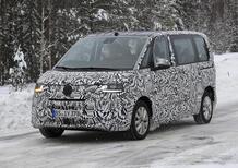 Volkswagen Transporter: verso la 7^ generazione [Video spia]