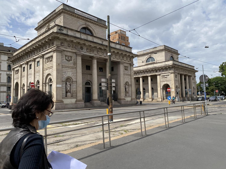 Fase 2 #rimettiamociinmoto: cartoline da Milano