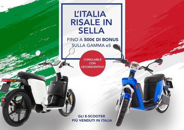 Bonus Ripartenza Askoll, fino a 500 € di sconto sugli scooter elettrici