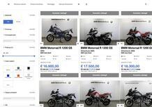 BMW usato store: le moto BMW a casa vostra con un click