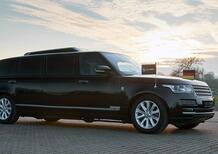 Range Rover: limousine carro armato da 750.000 euro