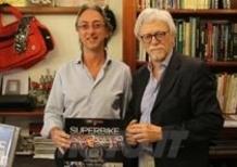 Claudio Porrozzi presenta il suo libro dedicato ai 25 anni della SBK