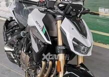 Nuova Benelli SRK600: le foto la svelano