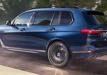 BMW nuovo X7 diventa XB7 Alpina: 130K per 7 posti, 8 cilindri e 612CV di SUV tedesco [300 Km/h]