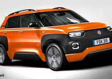 Due nuove Fiat Panda pronte una dietro l'altra: la Panda 2020 anche Sport e Hybrid, poi Panda 2021 elettrica e super low-cost [render]