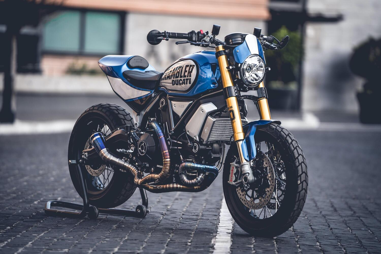 Scrambler Custom Rumble: vince il 1100FT di CC Racing Garage