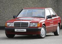 Mercedes 190 E Elektro, l'elettrico premium di 30 anni fa