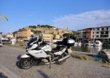 Coast to coast con la BMW sei cilindri K1600 GT
