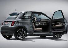 """Fiat 500 """"Trepiuno"""", arriva l'elettrica con la terza portiera (controvento)"""