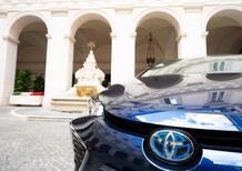 Una Toyota Corolla ibrida per la Presidenza del Consiglio
