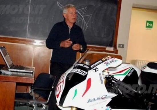 Vittore Cossalter: La dinamica della moto. Capirla aiuterebbe anche Valentino
