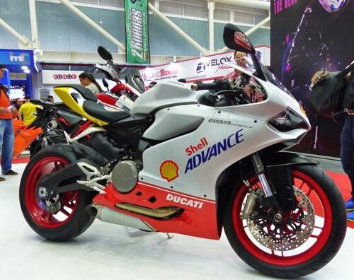 Una Ducati Panigale 899 personalizzata