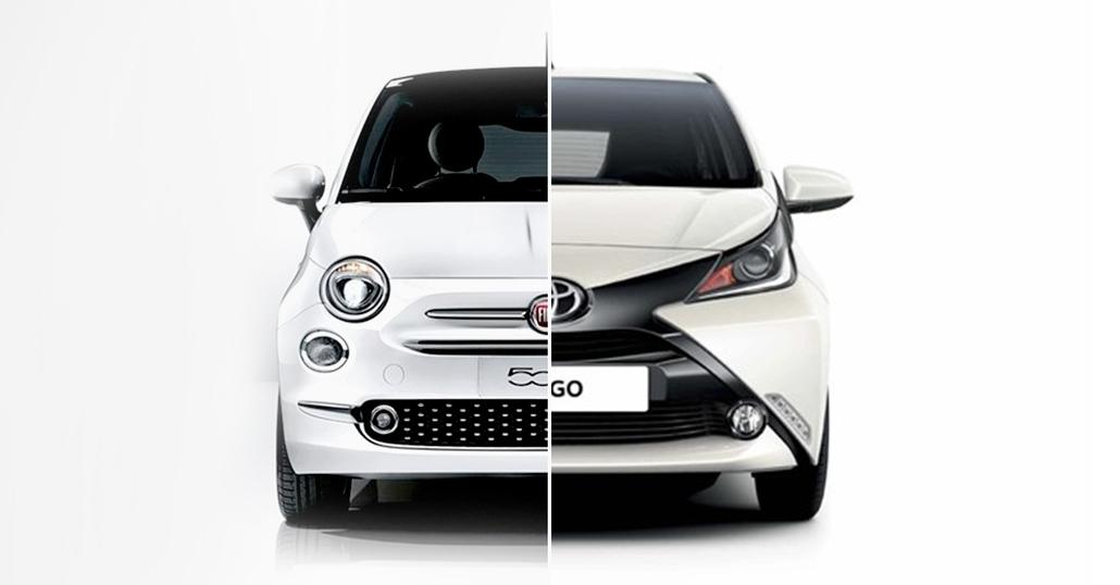 Quale comprare, Confronto: Toyota Aygo 1.0 Vs Fiat 500 1.2