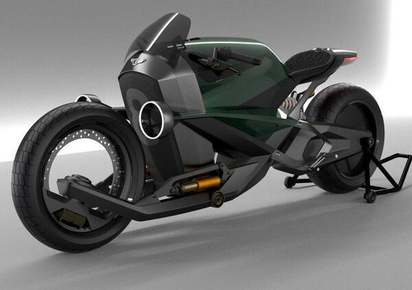Bentley Voltage Racer: uninglese elettrica. Ma cè il trucco...
