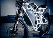 Light Rider la prima moto, spaziale, stampata in 3D