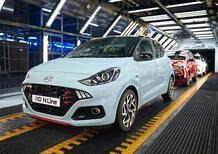 Nuova Hyundai i10 N Line: inizia la produzione, sul mercato in estate
