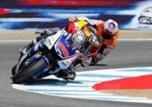 MotoGp Laguna Seca, dammi un cinque!