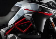 Ducati Multistrada 950 S GP White 2021. Livrea da MotoGP