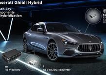 Centraline e sistemi elettronici della nuova sportiva ibrida Maserati? Not from Italy: centraline Bosch e batteria cinese [Ghibli Hybrid 48V ecus]