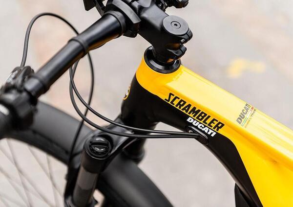 e-Scrambler, l'eBike firmata Ducati