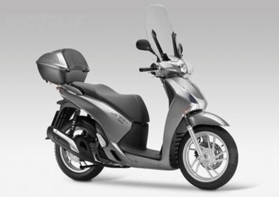 Nuovi Honda SH125i ABS e SH150i ABS 2013