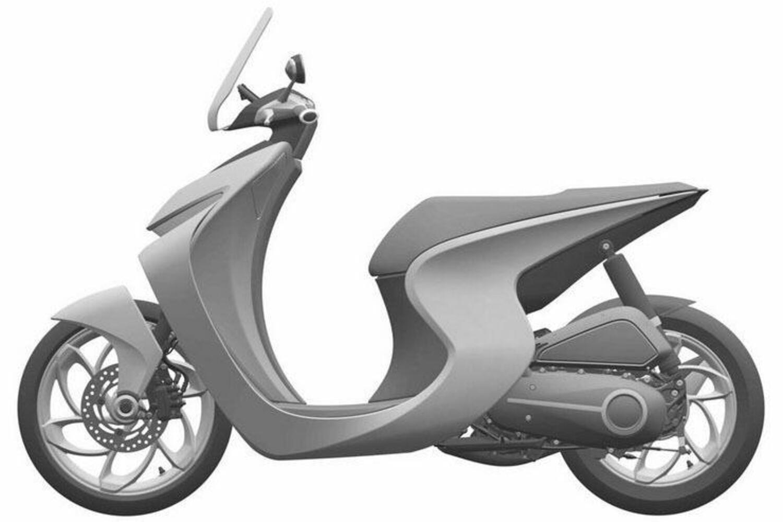 Honda, il brevetto di uno scooter nel solco dell'SH