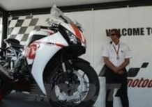 All'asta la Honda CBR1000RR dedicata a SuperSic