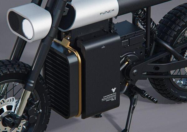 Punch, la moto elettrica che fonde design e velocità
