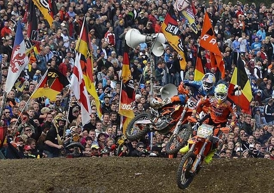 Le foto più spettacolari del GP di Germania