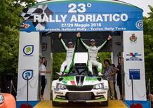 CIR 2016. Rally Adriatico. È Scandola e d'Amore (Skoda) x4