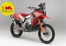 Intermot 2012: Honda svela la CRF450 Rally per la Dakar 2013