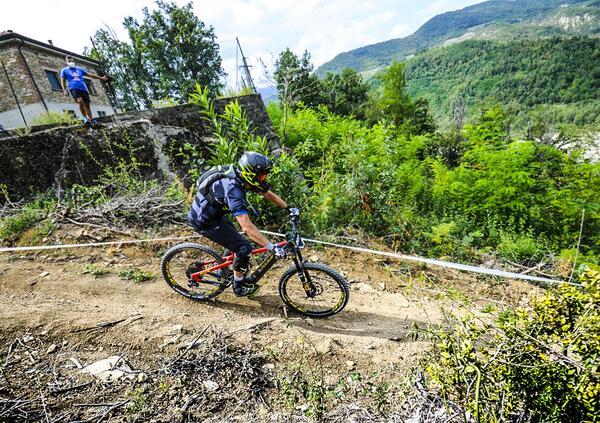 Polini vince al Campionato Italiano E-Bike Enduro