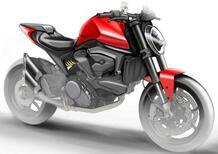 Ducati Monster 821 (o 939?) 2021. Senza in traliccio