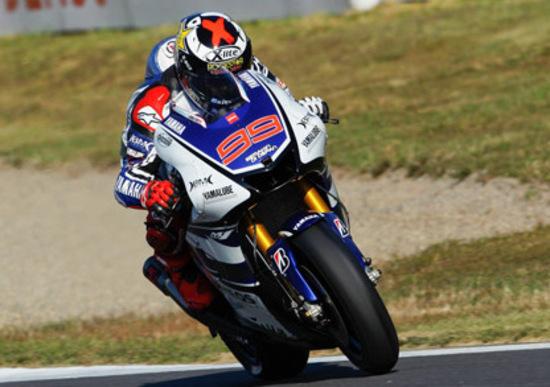 Lorenzo conquista la pole del GP di Motegi