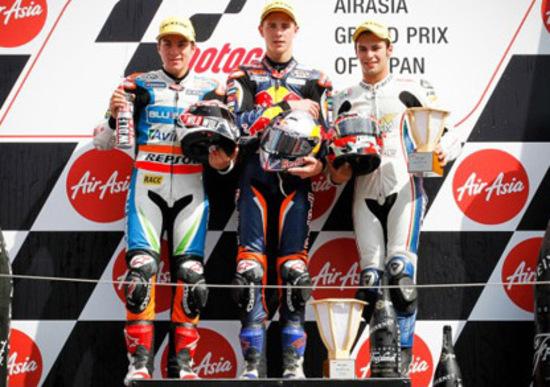 Moto3. Intervista a Tonucci, bronzo a Motegi