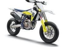Husqvarna, nuova FS 450 2021 motard