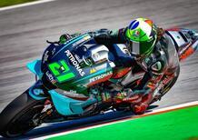 MotoGP. Morbidelli, Quartararo e Rossi, la prima fila del GP di Catalunya