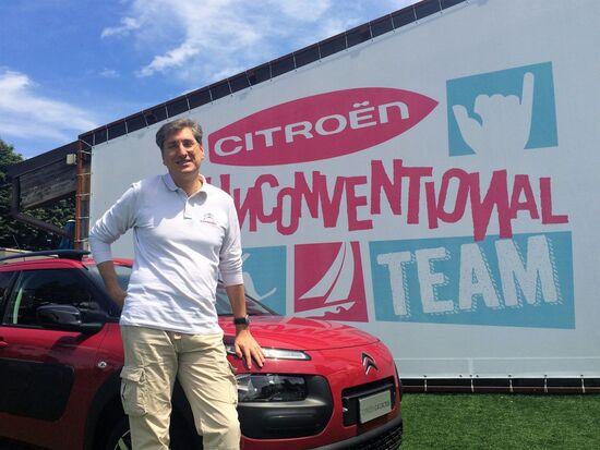Marco Freschi è il responsabile comunicazione di Citroen Italia