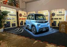 """Citroën lancia il """"Time to be my Ami"""": la singolare microcar elettrica è disponibile in Italia [guida dai 14 anni]"""