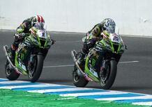 Superbike, la nuova Kawasaki Ninja debutta ai test invernali