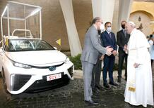 Toyota Mirai, una Papamobile ad idrogeno per Papa Francesco